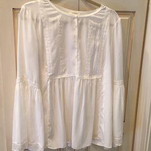 Max Studio bell sleeve blouse